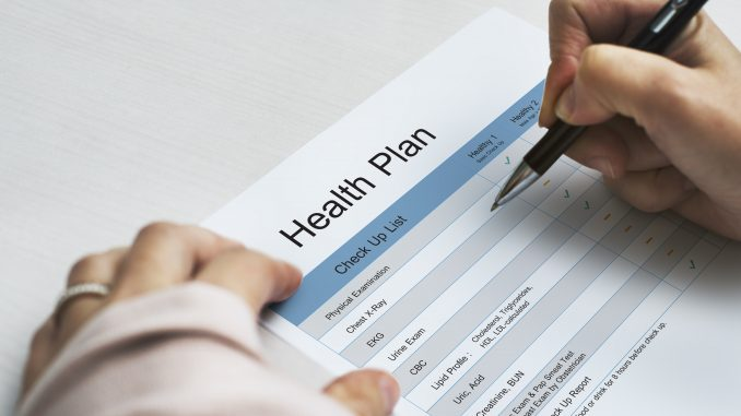 Health plan application