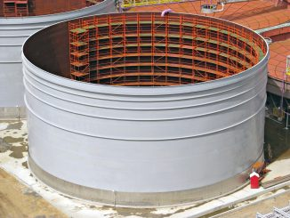 Construction of a water tank