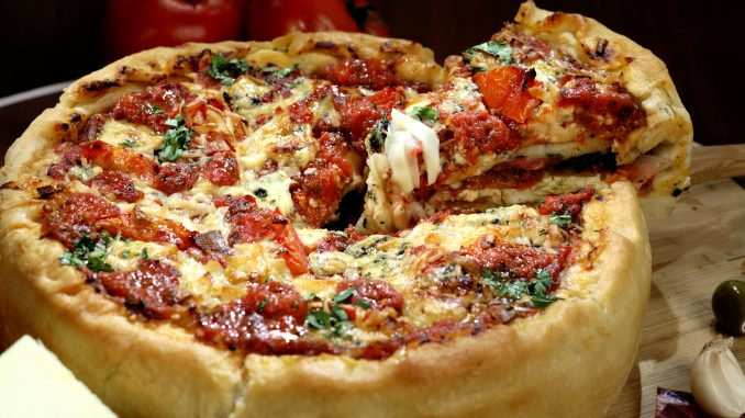 Famous Deep Dish Pizza