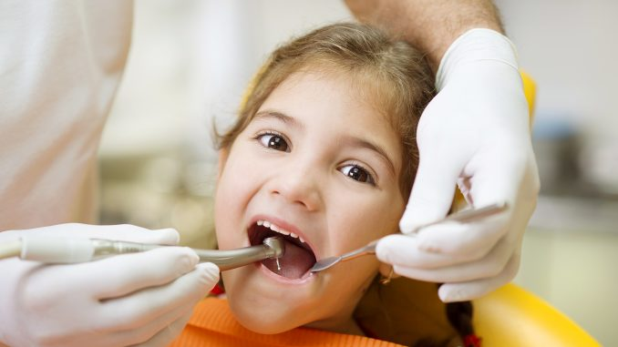 Little Girl at the Dentist's Clinic