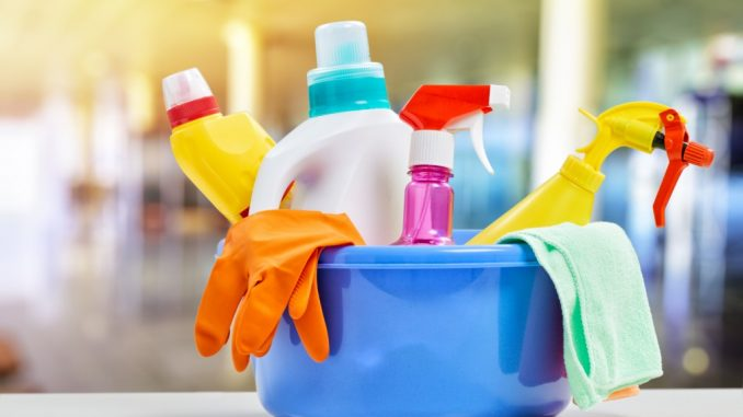 home cleaning materials in bulk
