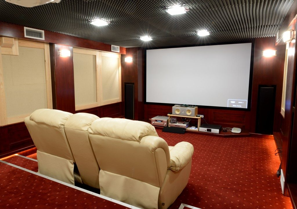 soundproof home theater