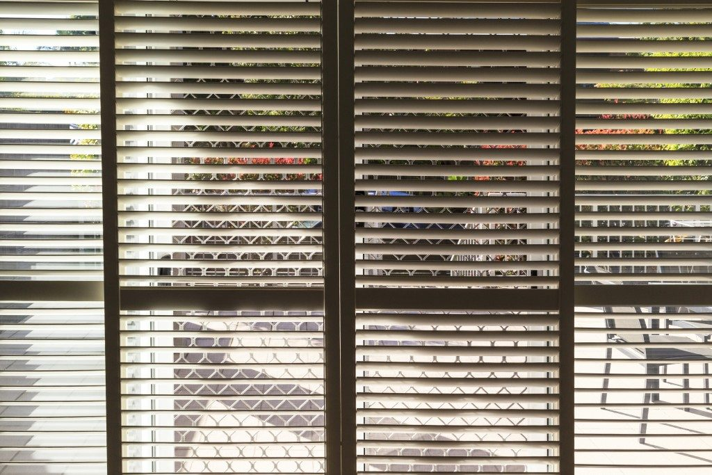 shutters window treatment