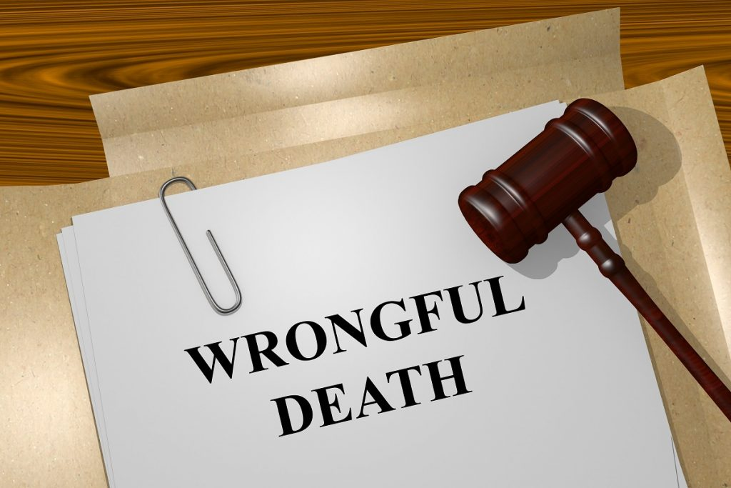 documents on wrongful death