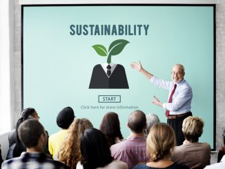 professor teaching sustainability