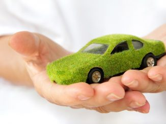 eco-friendly car concept